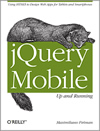 Book cover of jQuery Mobile: Up and Running