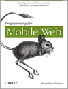 Book cover of Programming the Mobile Web